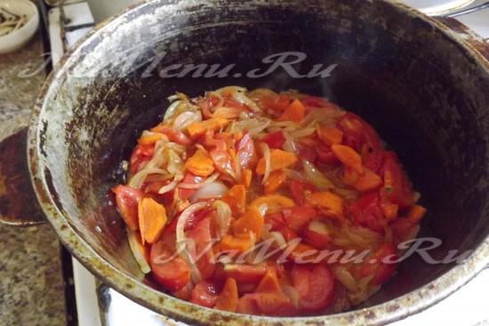 подготовить основу для супа