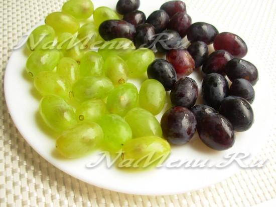 ягоды винограда оборвать