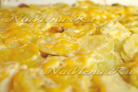 Картофельный гратен за 20 минут
