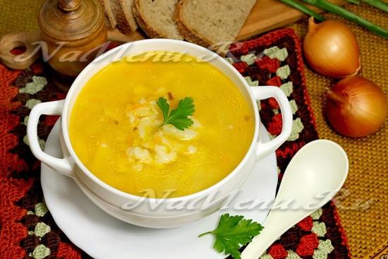 Суп «Затируха»