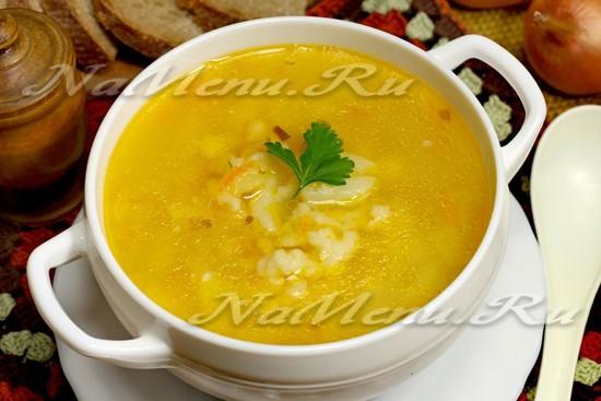 Рецепт супа «Затируха»