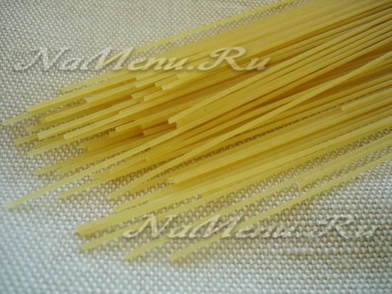 подберите спагетти