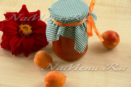 простой рецепт абрикосового конфитюра