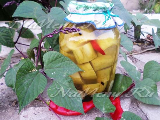 Консервированные кабачки на зиму без стерилизации
