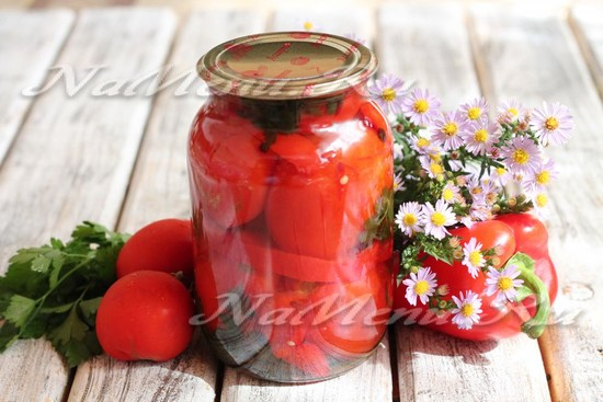 рецепт фаршированных помидор на зиму