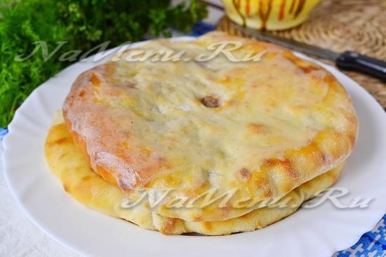 рецепт осетинской лепешки