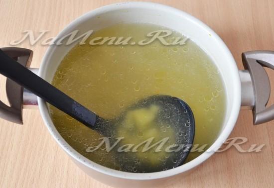Варим куриный суп