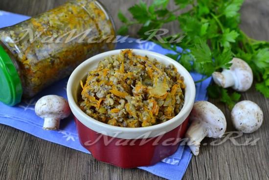 рецепт заготовки грибов