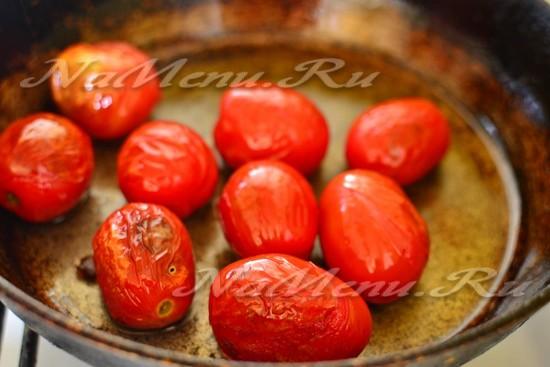 помидоры поджарить
