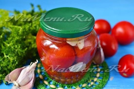 Жареные помидоры на зиму