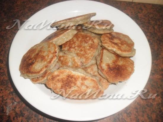 Рецепт фаршированных картофельных оладий