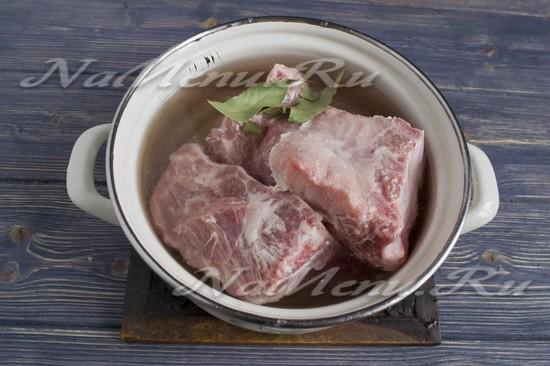 Варим мясо