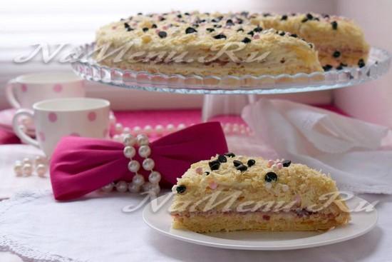 Торт вафельный «Как раньше»