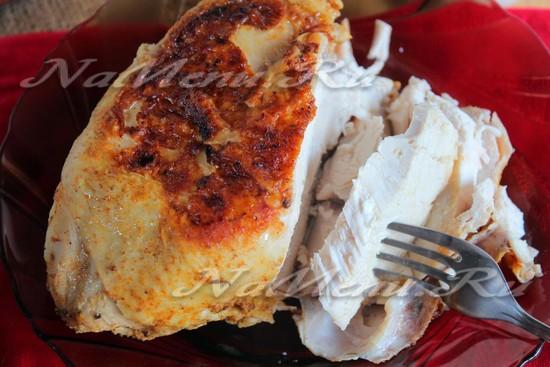 рецепт запеченной куриной грудки в мультиварке