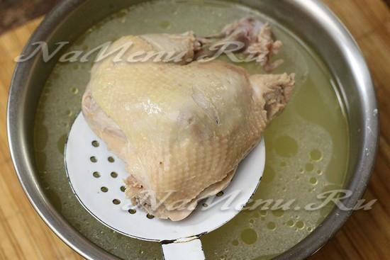 Достать курицу