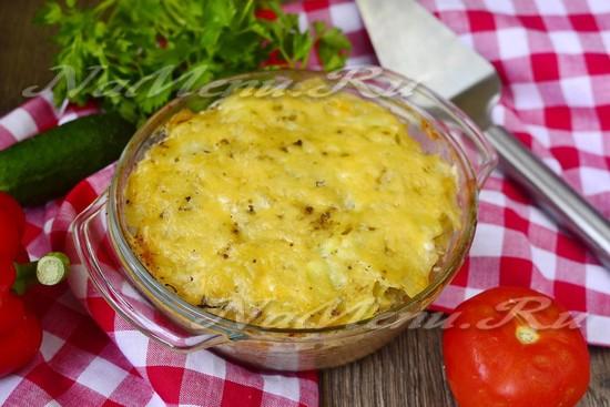 Диета 5 картофельная запеканка с фаршем