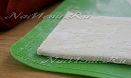 Разморозить тесто