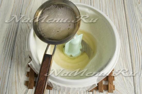 Добавить желатин