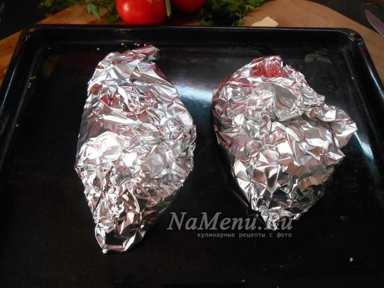 Запекайте филе в течение 25 минут