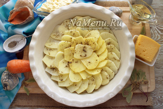 Добавить картофель