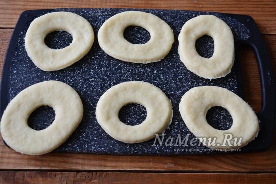 выдавите пончики