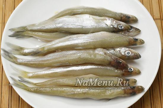 подготовили рыбу к жарке