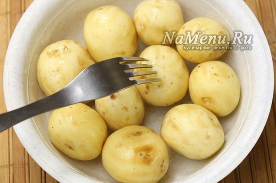 почистили картошку