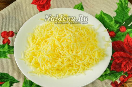 натереть твердый сыр
