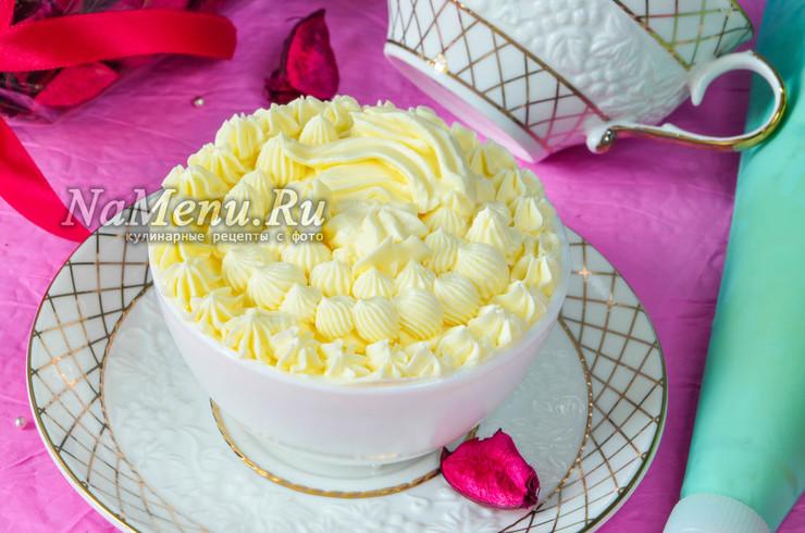 Крем Шарлотт для торта