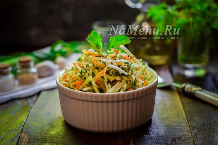 Быстрые маринованные кабачки по-корейски с морковью