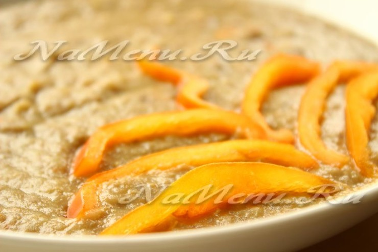 Суп-пюре из чечевицы – кулинарный рецепт