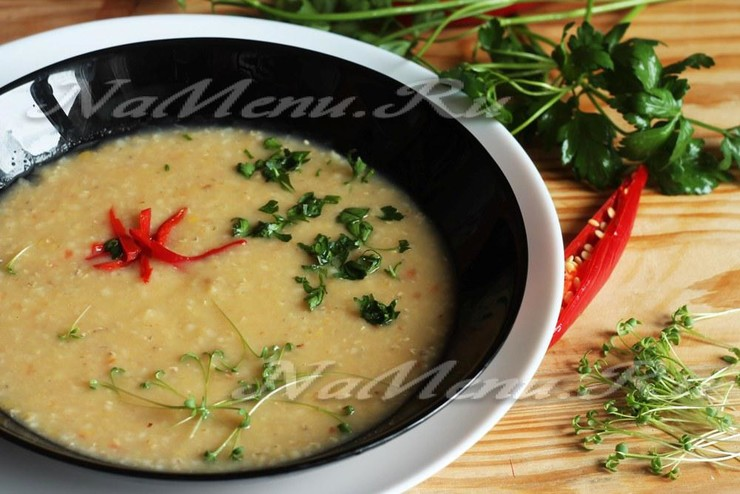 Рецепт турецкого супа из чечевицы