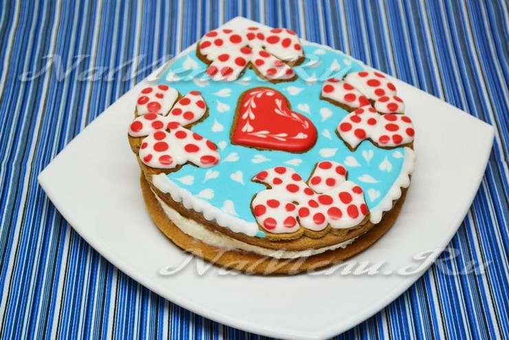 Торт для влюблённых с рикоттой