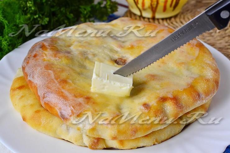 Тесто для осетинских пирогов на кефире