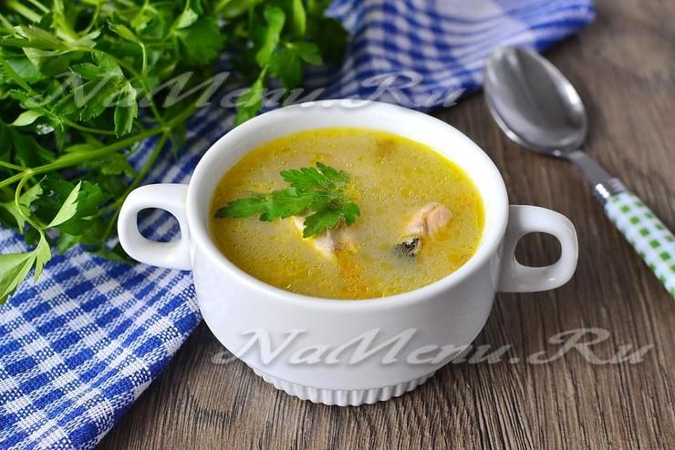 Замечательный суп из свежей горбуши