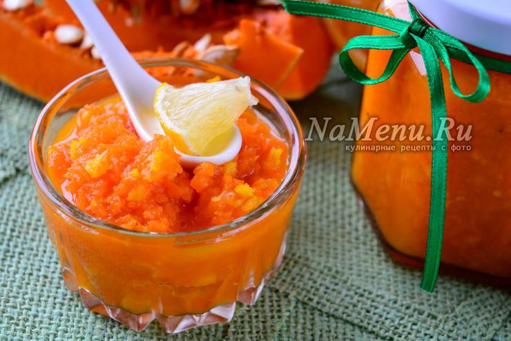 Варенье из тыквы с апельсином и лимоном через мясорубку