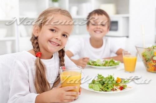 Меню для ребенка в 1.5 года до 2 лет с рецептами на неделю