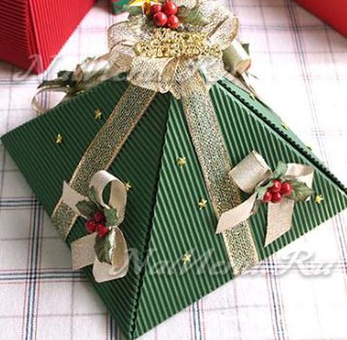 Новогодние коробки для подарков своими руками фото 232