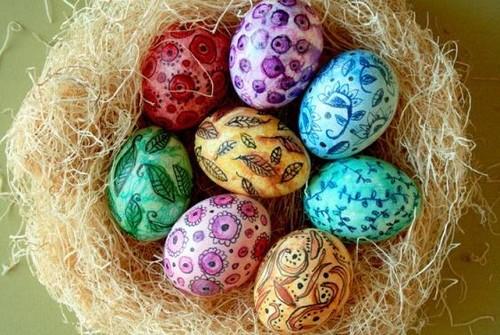 Чем покрасить яйца на пасху в домашних условиях без красителей