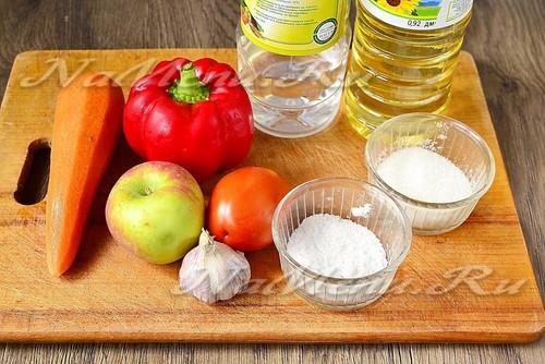 Аджика с яблоками на зиму: лучшие рецепты с фото пошагово