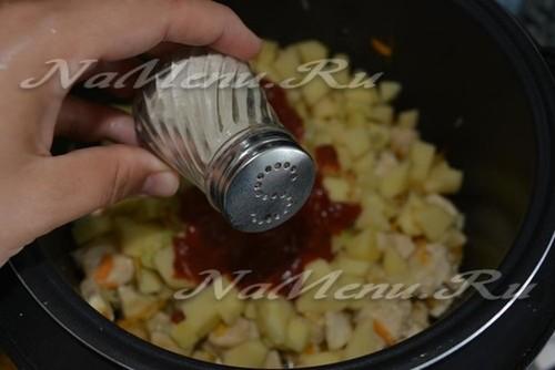 Лагман - рецепт с фото в домашних условиях из курицы пошагово