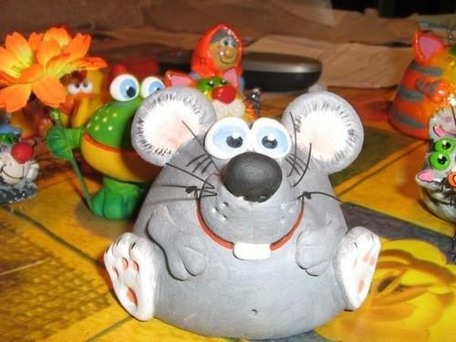 Крыса из соленого теста своими руками на Новый год 2020: фото, видео (самое интересное)