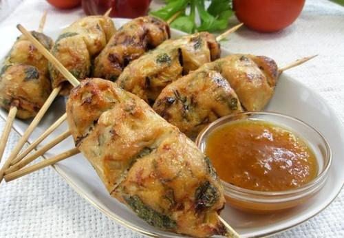 Люля-кебаб: рецепт в духовке в домашних условиях на шпажках из курицы (фото пошагово)